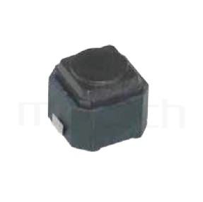 HTS-06ML Series-輕觸開關-6x6mm,SMT表面黏著,長行程,垂直按押輕觸開關Tact Switch