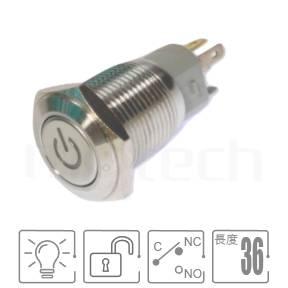 MP16-5MP Series-天使眼開關,LED雙晶片,正反可接防水、防破壞、耐腐蝕,,孔徑16mm,1NO1NC1COM,自複自復,平面, 帶燈 照光式 LED發光金屬開關 LED 燈色, 燈壓5V 6V 12V 24V 110V 220V LED帶燈,電源符號燈,平面電源符號電源logoft-16,lb16b,J16,EJ16,qn16,GQ16,MPB16,HK16B,HKYB16B,LAS2GQ,pbm16,cmp,bpb,mp16n,材質-不鏽鋼,黃銅鍍鎳,鋁合金,復歸 自復位 防水、防塵、耐腐蝕| MP16TECH提供您最完整的防水金屬按鈕開關產品與服務