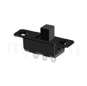 SS-12F16 Series-滑動開關-帶固定孔滑動開關1P2T,SPDT迴路,滑動開關帶固定孔Slide Switch