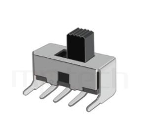 SS-12F23 Series-滑動開關-滑動開關1P2T,SPDT迴路,Vertical Slide Switch ,立式滑動開關