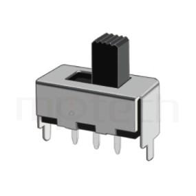 SS-12F45 Series-滑動開關-滑動開關1P2T,SPDT迴路,直腳滑動開關Slide Switch