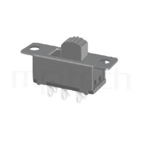 SS-22F32 Series-滑動開關-滑動開關2P2T,DPDT迴路,滑動開關Slide Switch