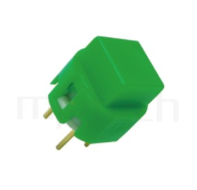 PS-201 系列-復歸按鈕開關Momentary Push button Switch,方形,DIP插版,小型按鈕,復歸/無鎖/回彈/無段 ,OFF-(ON),SPST,1P1T迴路 ,版上高度10mm