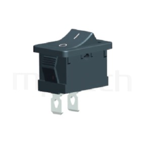 RS-601A-10111NBB 系列-翹板開關Rocker Switch ,21x15mm , ,6A 250VAC, 10A 125VAC,ON-OFF ,SPST,1P1T迴路