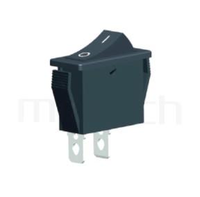 RS-606-10111NBB 系列-翹板開關Rocker Switch ,30x13mm , ,16A 250VAC,ON-OFF ,SPST,1P1T迴路