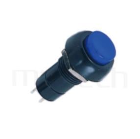 PS-304 系列-自鎖按鍵開關Lock Push Switch ,圓形, 螺母固定,自鎖/有段 ,OFF-ON,SPST,1P1T迴路 ,總長度38mm | PS-304系列