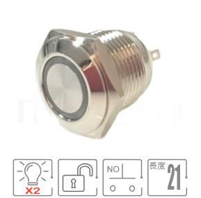 MP16E-5MFRG Series-天使眼金屬開關,紅綠雙色,紅綠兩種LED燈色可搭配,防水/防塵/防化學腐蝕,小型,短款開關,Φ16mm,一組A接點,復歸回彈,平頭,帶燈金屬開關,燈色任選,天使眼開關平面J16,EJ16,MPB16,HK16B,HKYB16B,GQ16,LAS2GQ,pbm16,cmp,bpb,mp16n,ft-16,lb16b,qn16,材質-鋁機殼,陽極處理外殼,不銹鋼金屬殼,復歸 自復位 防水、防破壞、耐腐蝕| MP16TECH提供您最完整的防水金屬按鈕開關產品與服務