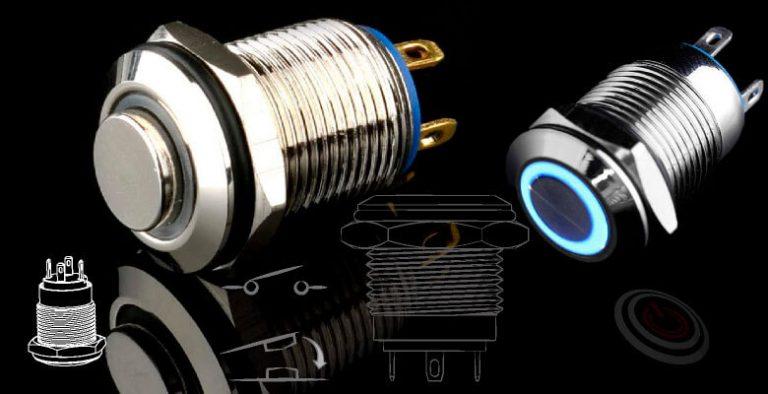 1NO 短款就很剛好,簡單的 4 PIN 按鈕開關就達成您要的電路需求, 2支端子腳組合成一個基本的1NO 一組常開接點,再加上2 支LED端子腳,防水金屬按鈕,電源金屬按鍵,可對應ft-19,lb19b,qn19,GQ19,J19,EJ19,LAS1-BGQ,LAS1-AGQ,MPB19,MPS19,MW19,HK19B,HKYB19B,LAS1GQ,pbm19,cmp,bpb,mp19n