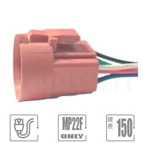 "TH-MP22F 連接器帶線材,連接器配件,MP22F-5 系列專屬配件,帶線長150mm,線徑22 AWG, 尾端剝線10mm,可用以延長;無須焊接,可直接插於MP22F系列金屬按鈕開關底部,聯接底部的開關端子腳,並具有卡勾可使聯接更加穩定而不輕易脫落。| MP16TECH提供您最完整的防水金屬按鈕開關產品與服務"""